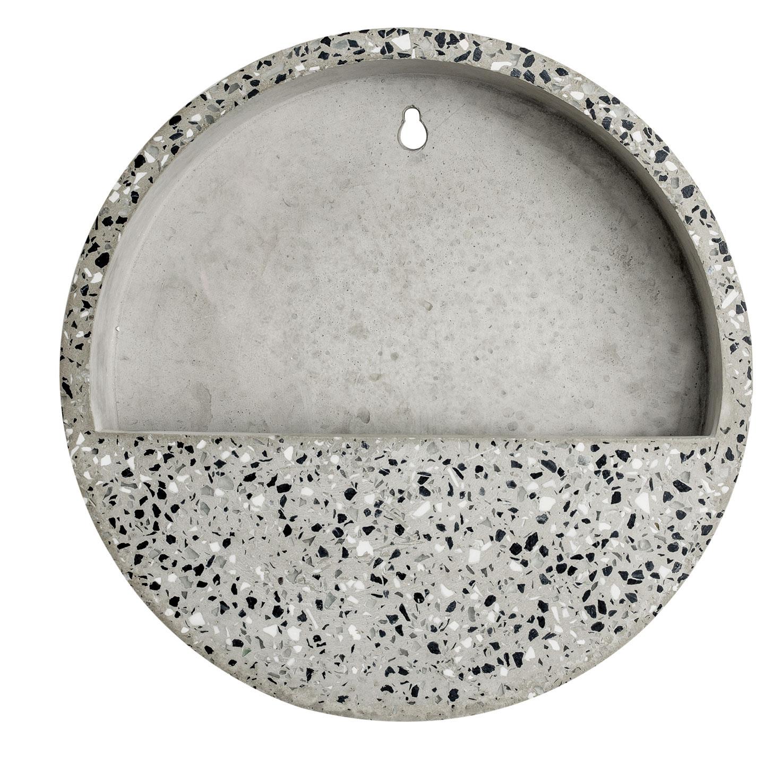 Terrário De Parede Areia Em Cimento 5 x 26,5 x 26,5 cm