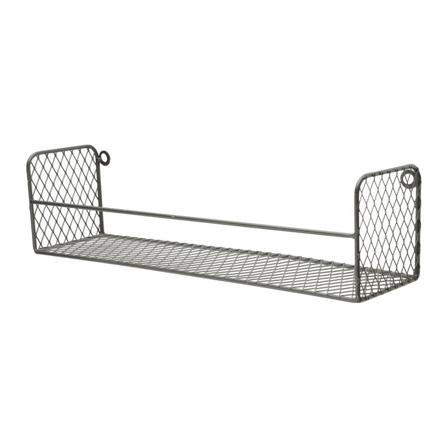 Prateleira Metal Square Cage Preto
