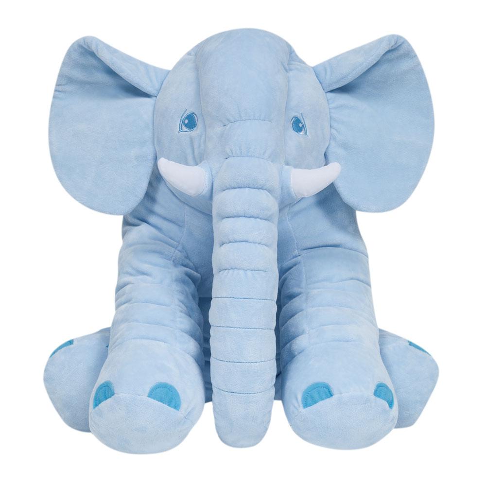 Almofada Elefante Gigante Azul - Buba - 7563