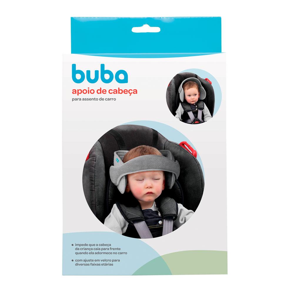 Apoio De Cabeca Para Assento De Carro Buba Preto - 12030