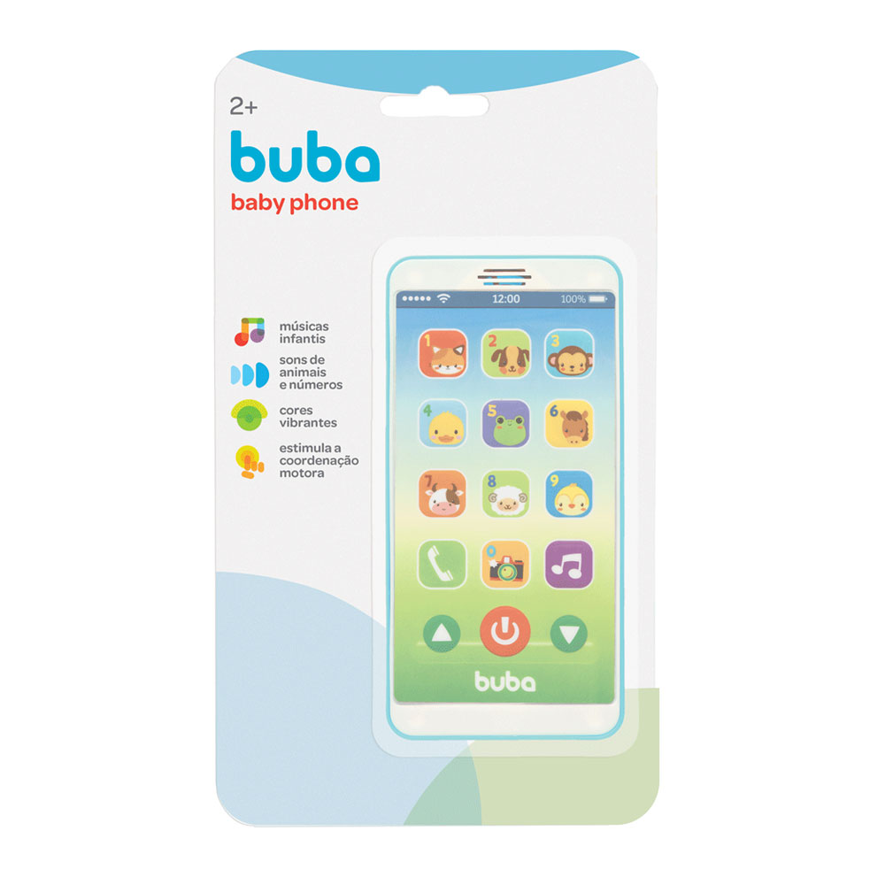 Baby Phone Azul - Buba - 6841