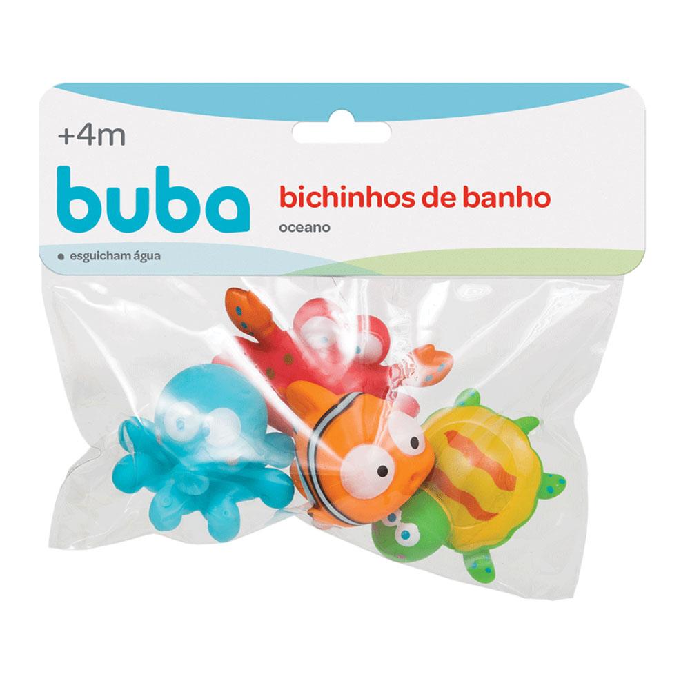 Bichinhos para Banho - Oceano - Buba - 09679