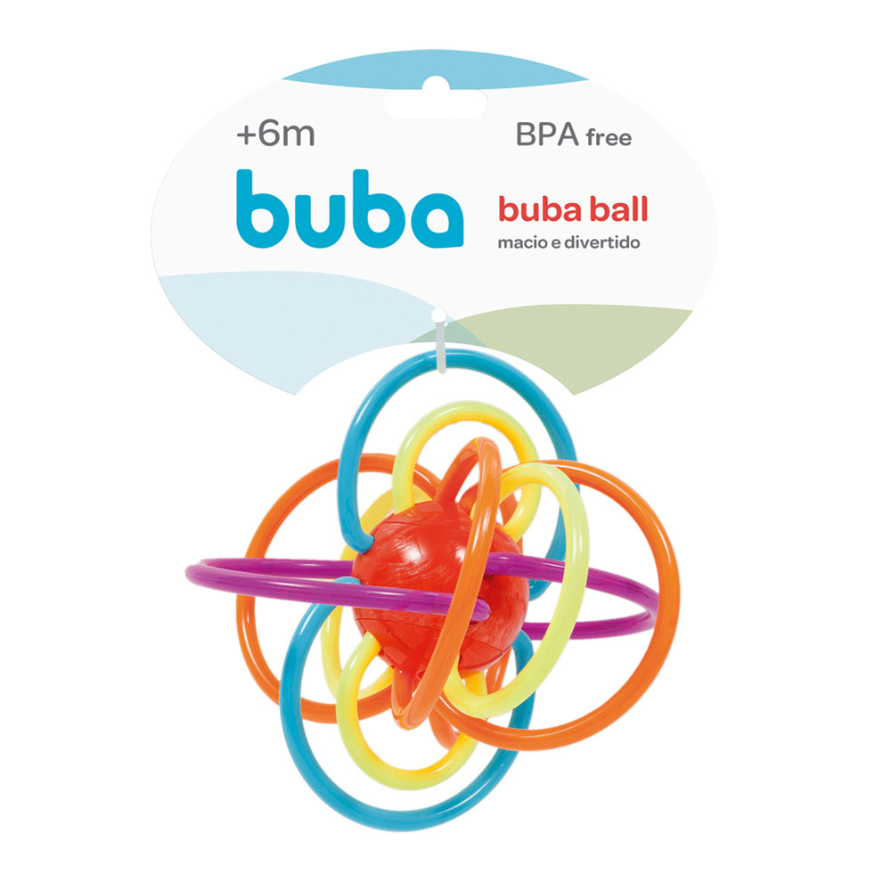 Chocalho Ball Colorido - Buba - 7650