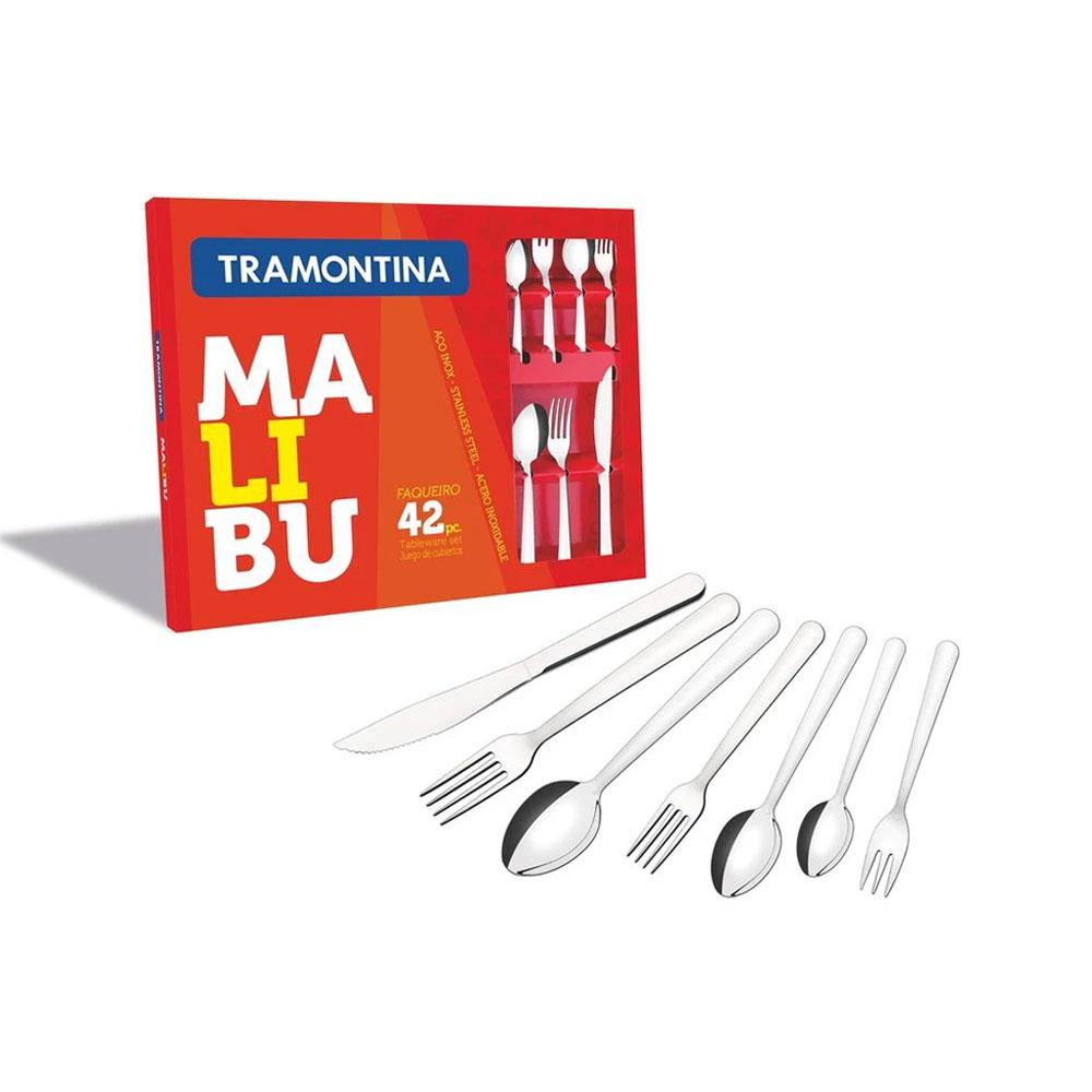 Faqueiro Tramontina Malibu 42 Peças - Inox / 23799039