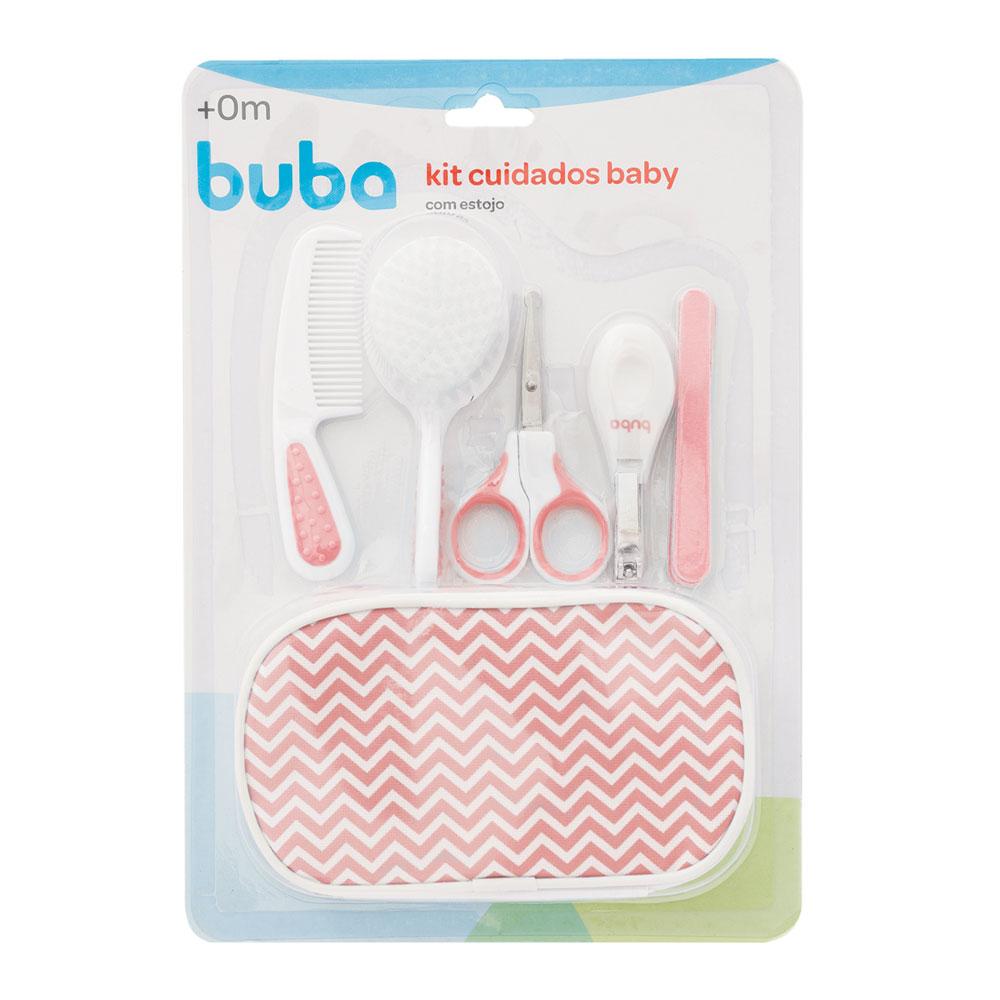 Kit Cuidados Baby Com Estojo Buba Rosa - 07286