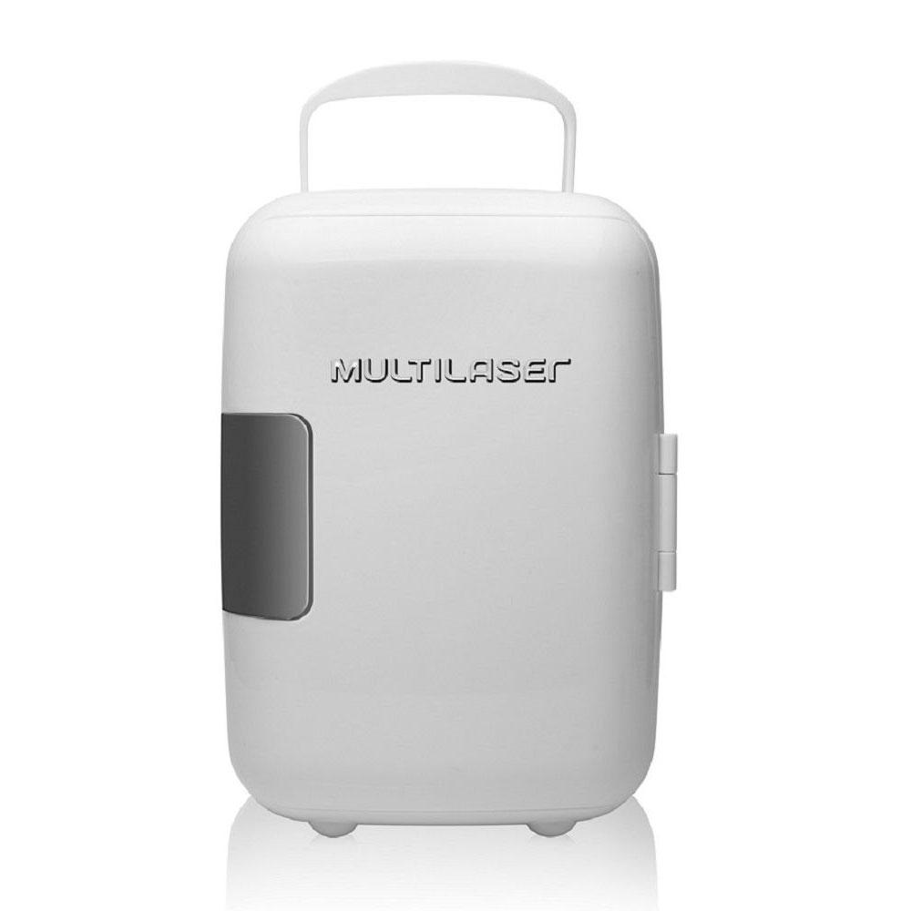 Mini Geladeira Multilaser 4L Branca -  Tv009