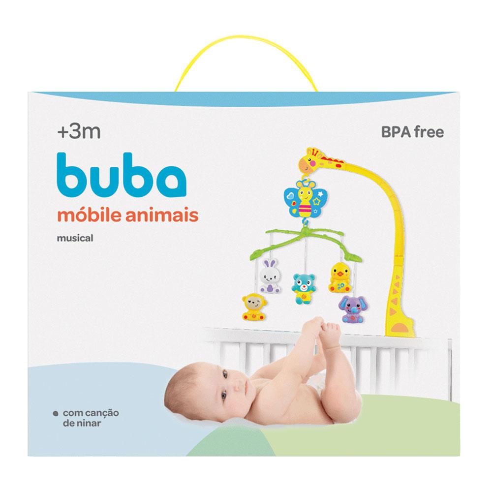 Mobile Musical Girafa e Animais - Buba - 5849