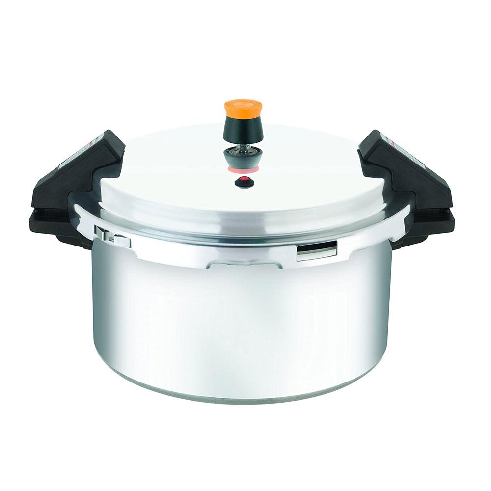 Panela de Pressão Turbo Pro 11,4L Aluminio - Rochedo