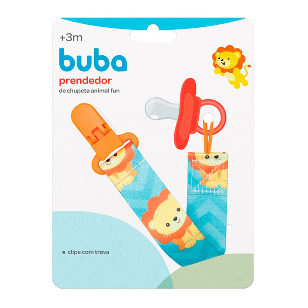 Prendedor De Chupeta Animal Fun Leao - Buba - 12047