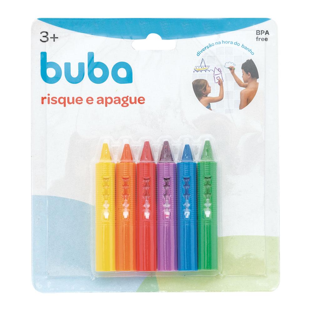Lápis Risque e Apague - Colorido - Buba - 7473