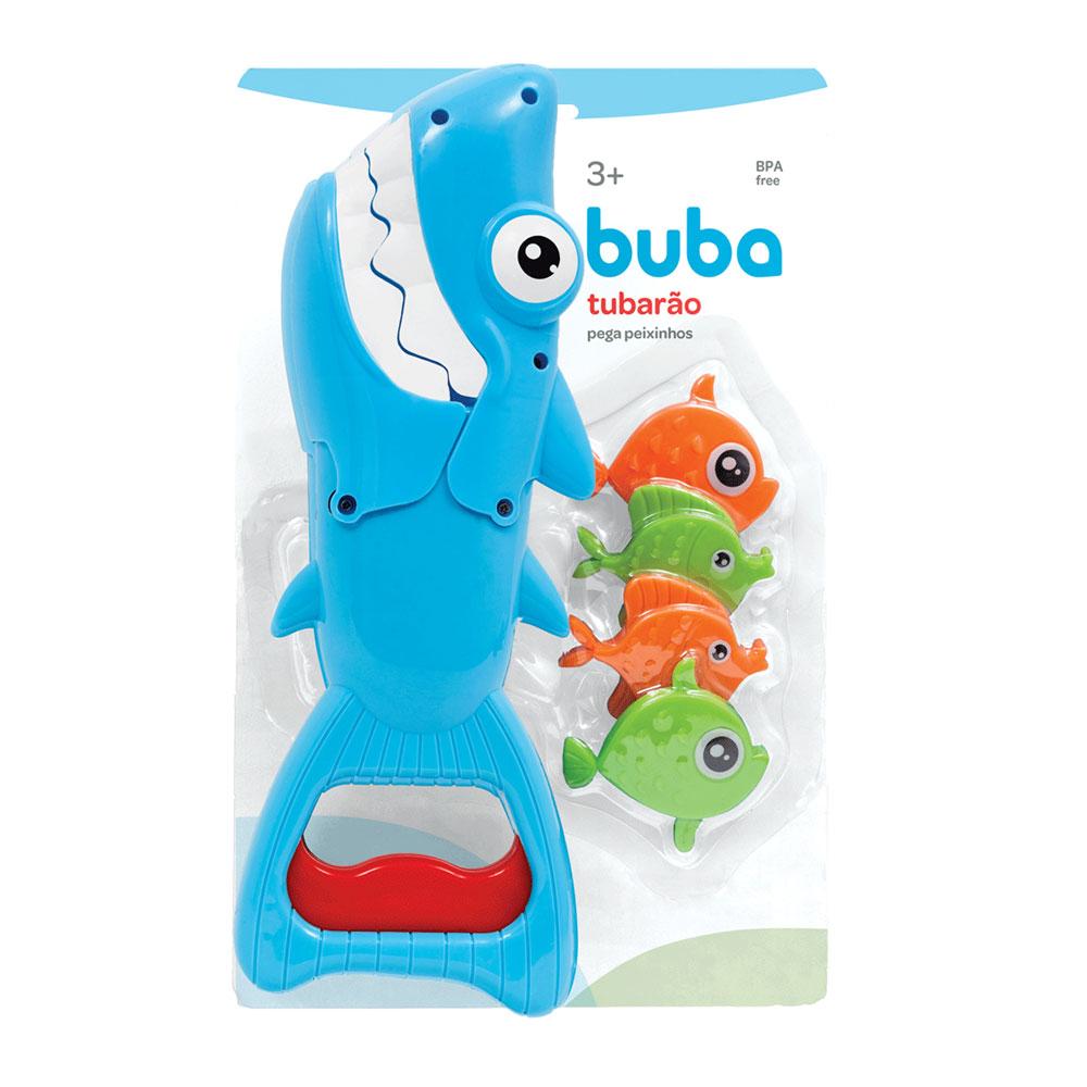 Tubarão Pega Peixinhos  Colorido - Buba - 11396