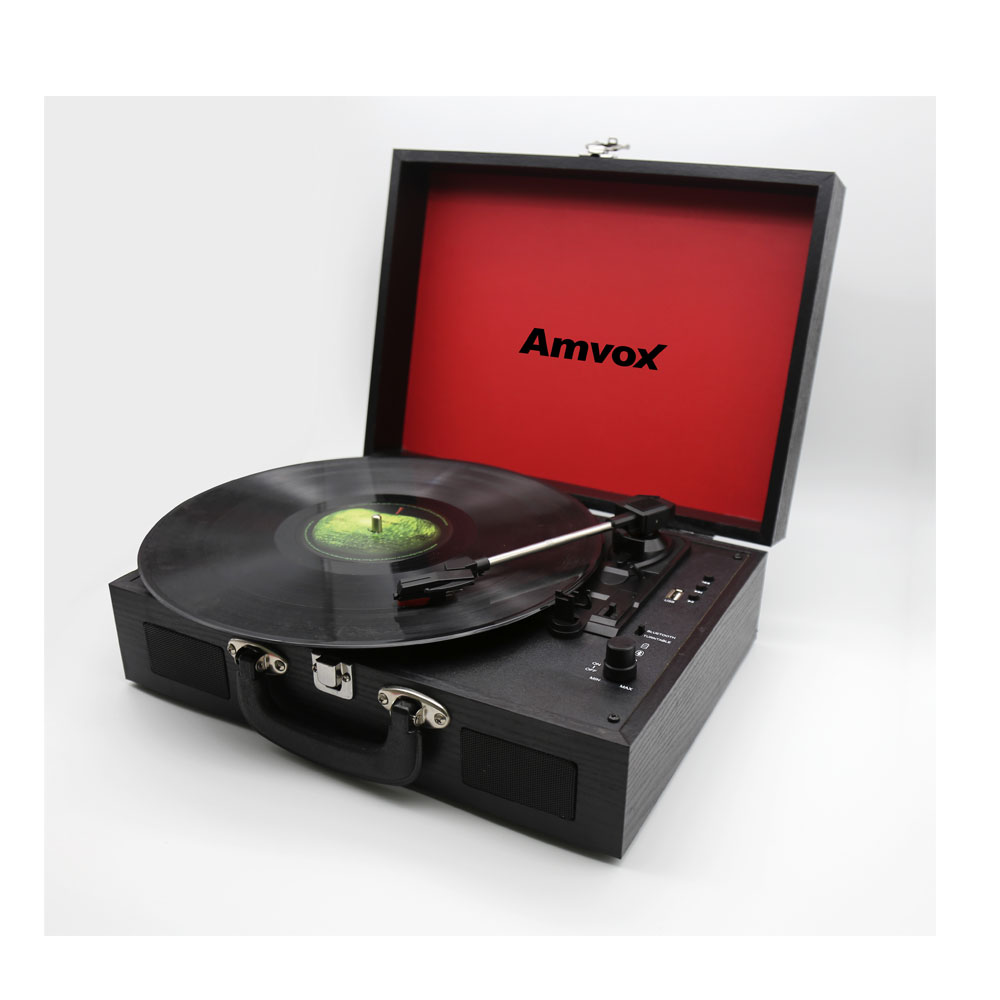 Vitrola Amvox AVT 1199 com Bluetooth e USB - 15W