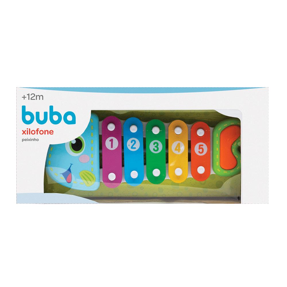 Xilofone Peixinho Colorido - Buba - 6690